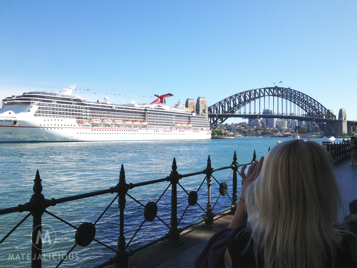 Sydney Cruise Ship Port - Matejalicious Travel and Adventure
