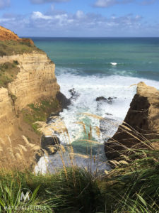 Auckland West Coast Cliff - Matejalicious Travel and Adventure
