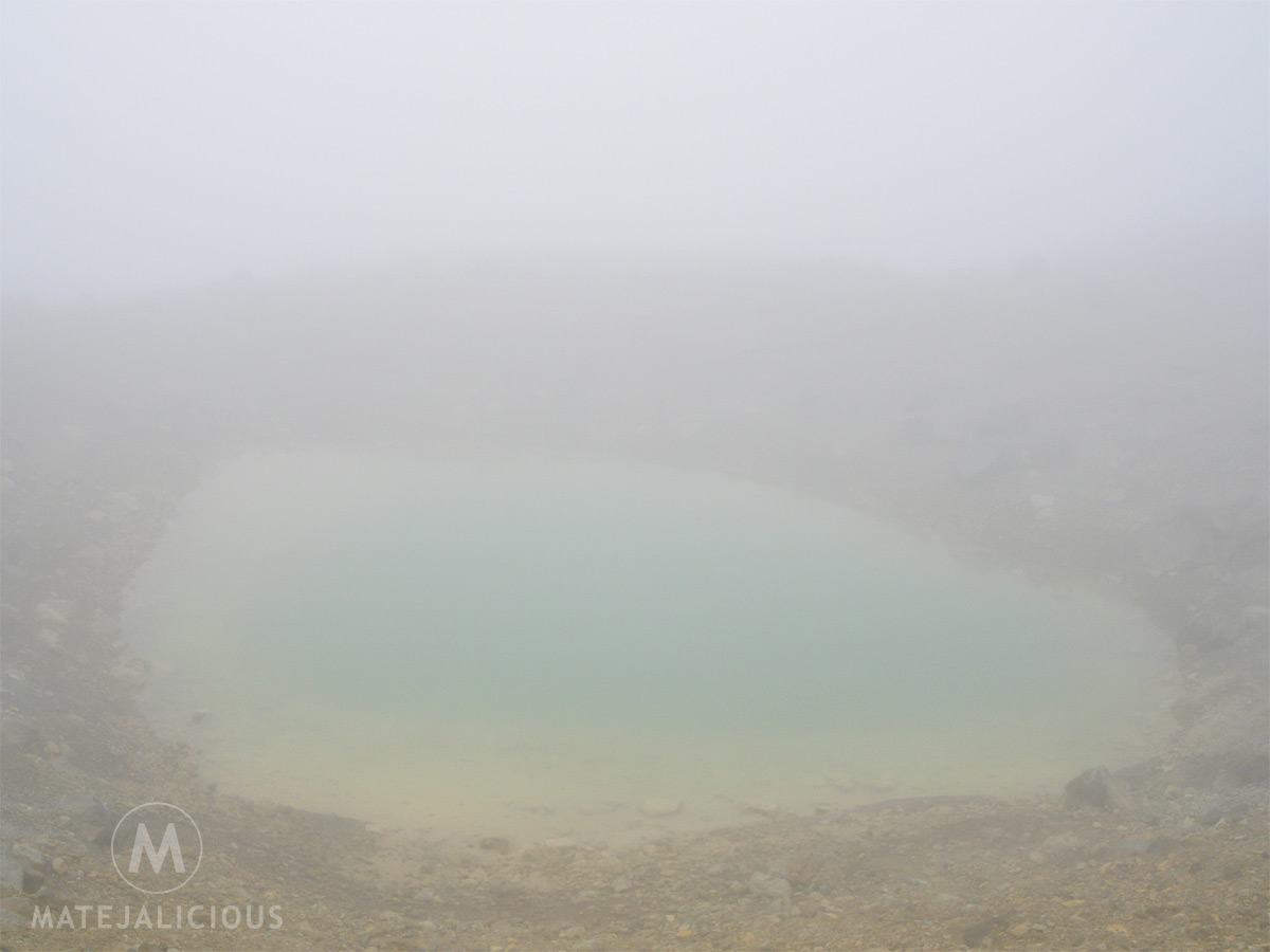 Fog Bad Weather Tongariro - Matejalicious Travel and Adventure
