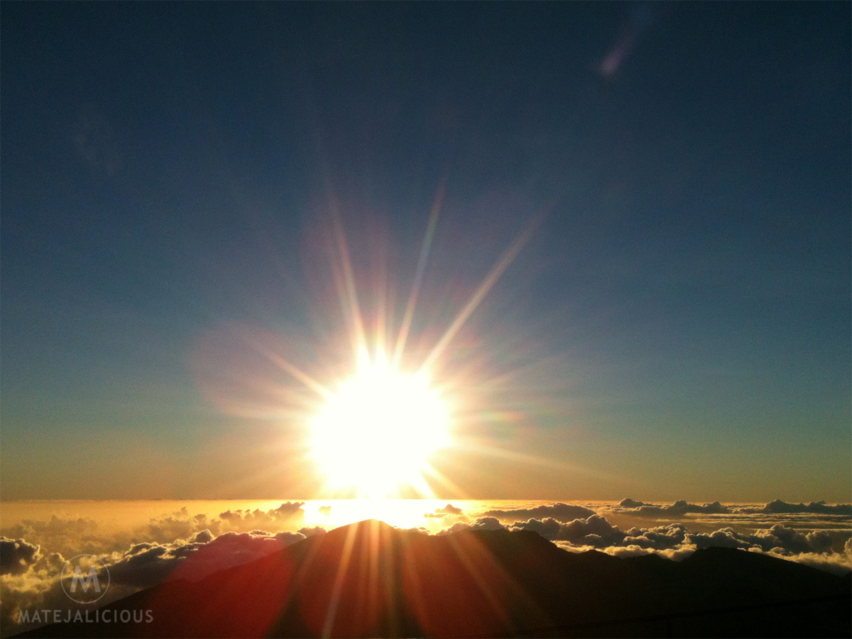 Haleakala Sunrise Hawaii - Matejalicious Travel and Adventure