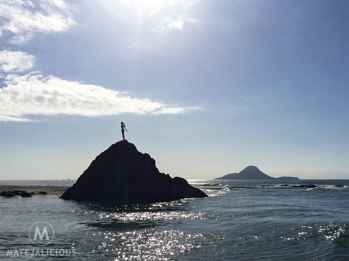 The Lady On The Rock Whakatane - Matejalicious Travel and Adventure