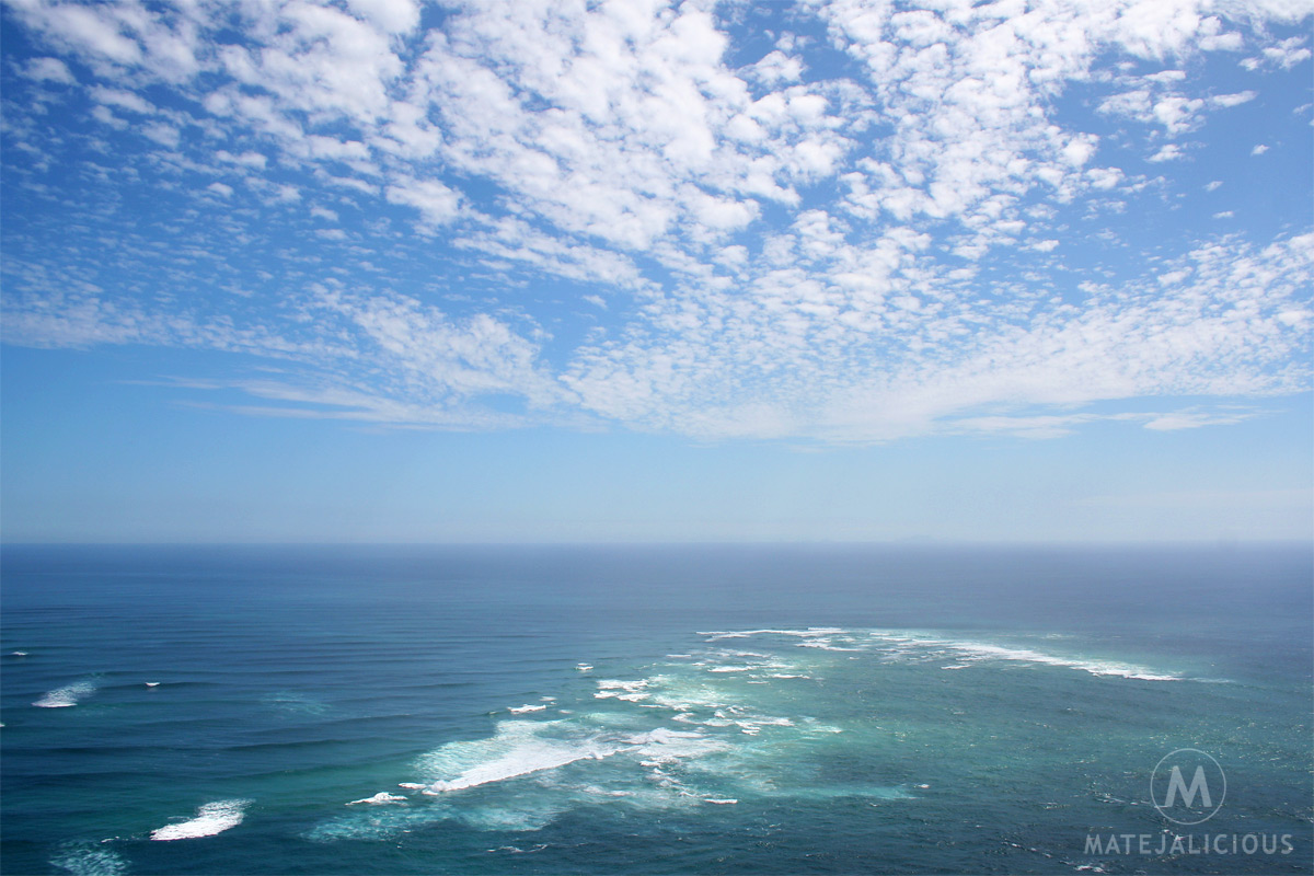 Cape Reinga Ocean - Matejalicious Travel and Adventure