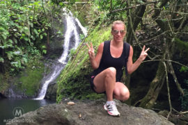 Papua Falls Rarotonga - Matejalicious Travel and Adventure