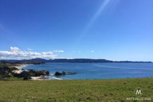 Tawharanui Regional Park Panorama - Matejalicious Travel and Adventure