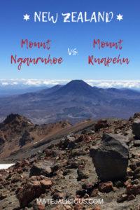 Mount Ngauruhoe vs Mount Ruapehu - Matejalicious Travel and Adventure