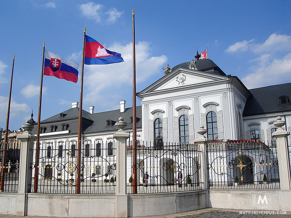 Presidential Palace Bratislava - Matejalicious Travel and Adventure