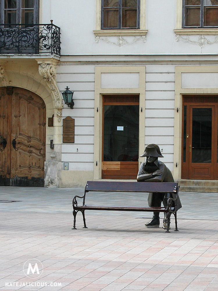 Statue Bratislava - Matejalicious Travel and Adventure