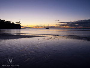 Browns Bay Sunrise - Matejalicious Travel and Adventure