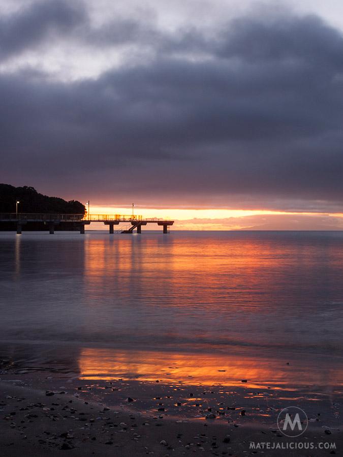 Murrays Bay Sunrise - Matejalicious Travel and Adventure