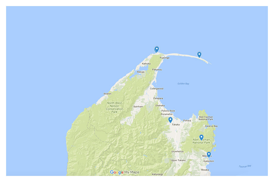 Tasman Map - Matejalicious Travel and Adventure