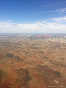 Uluru from above - Matejalicious Travel and Adventure
