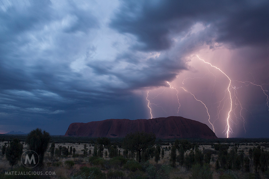 Uluru Storm - Matejalicious Travel and Adventure