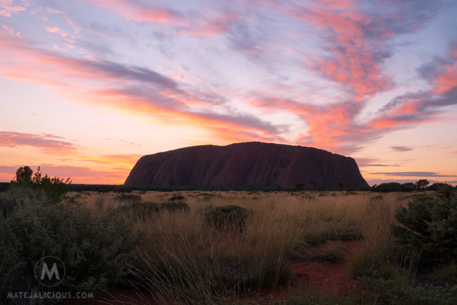 Uluru Sunrise - Matejalicious Travel and Adventure
