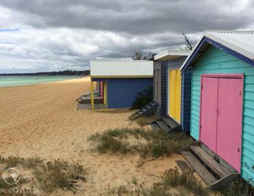 Bathing Beach Boxes Mornington - Matejalicious Travel and Adventure