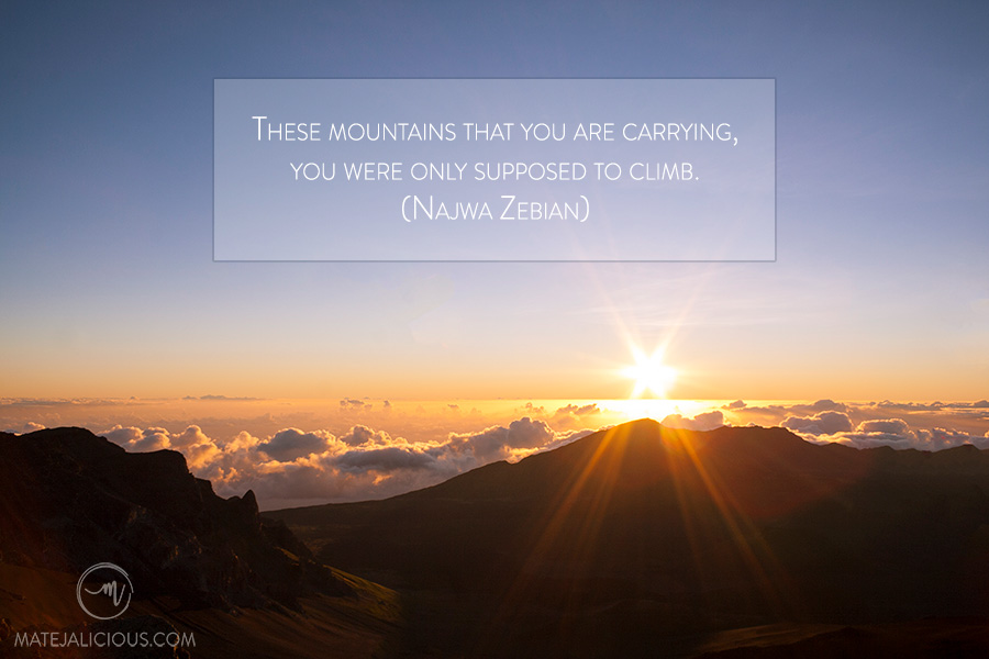 Travel Quote Mountains - Matejalicious Travel and Adventure