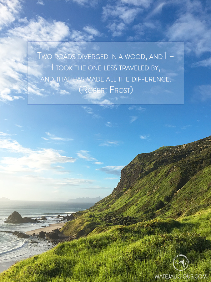 Travel Quote Two Roads - Matejalicious Travel and Adventure