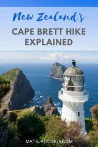 Cape Brett Hike Explained - Matejalicious Travel and Adventure