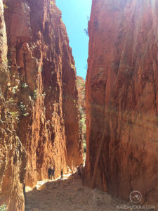 Standley Chasm - Matejalicious Travel and Adventure
