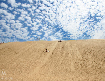 Te Paki Sandboarding - Matejalicious Travel and Adventure