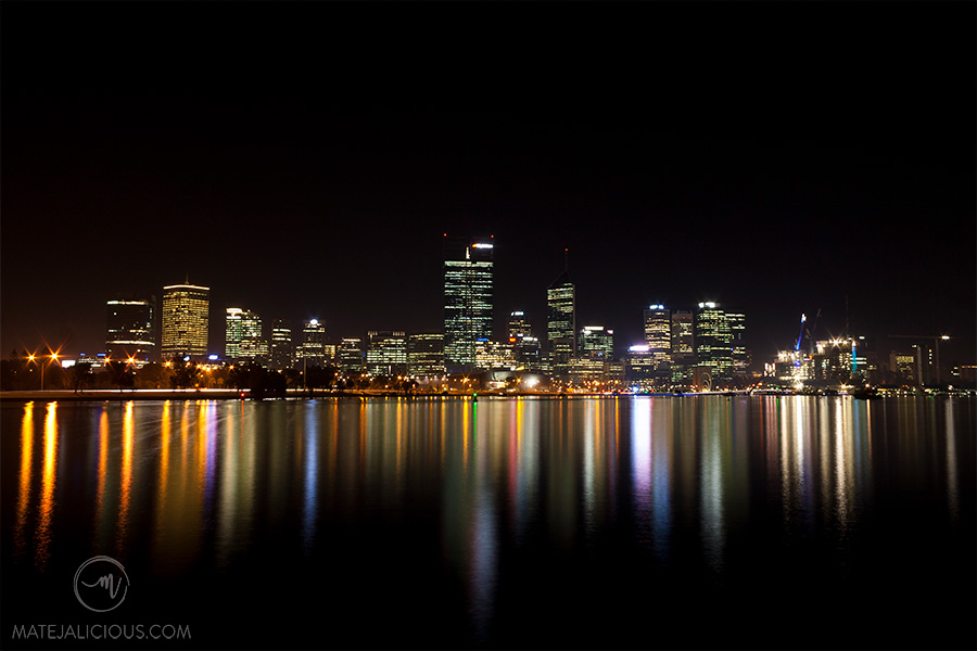 Perth Skyline - Matejalicious Travel and Adventure