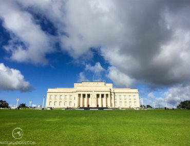 Auckland Museum Wide Lens - Matejalicious Travel and Adventure