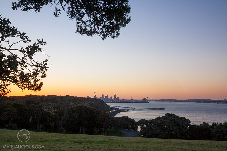 Auckland City from Bastion Point - Matejalicious Travel and Adventure