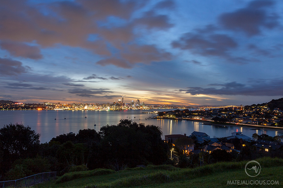 Auckland City from North Head - Matejalicious Travel and Adventure