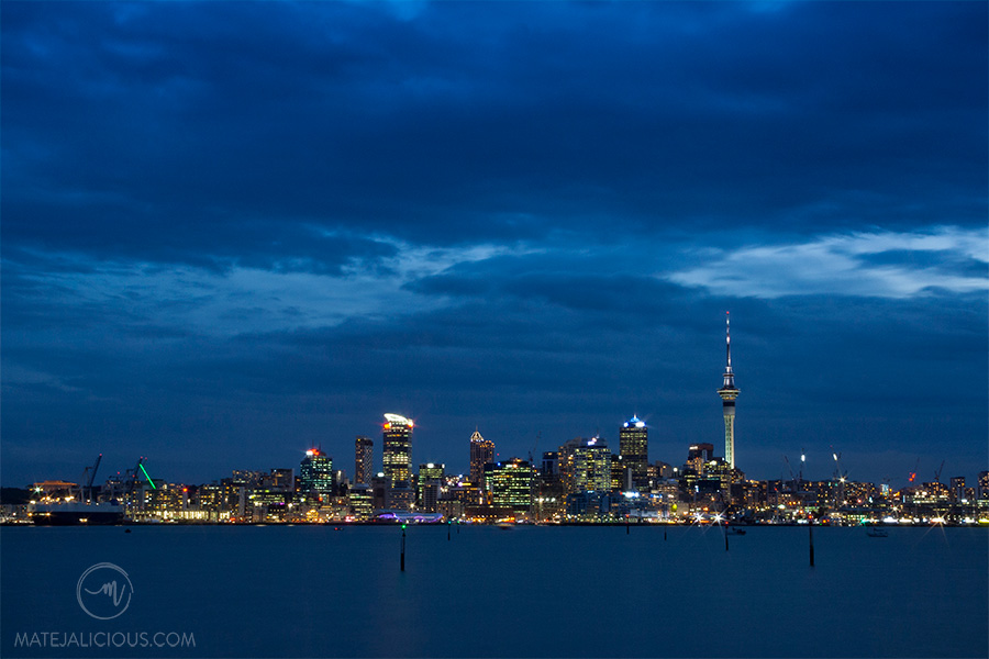 Auckland City from North Shore - Matejalicious Travel and Adventure