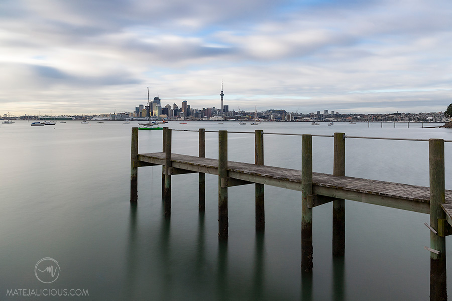 Auckland City from Northcote Point - Matejalicious Travel and Adventure