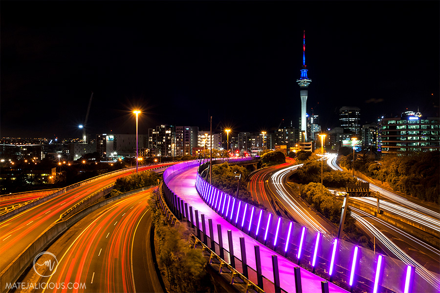 Auckland City Pink Road - Matejalicious Travel and Adventure