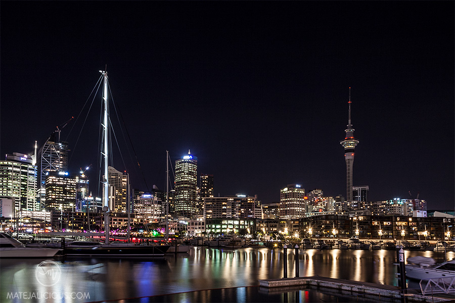 Auckland City Sky Tower - Matejalicious Travel and Adventure