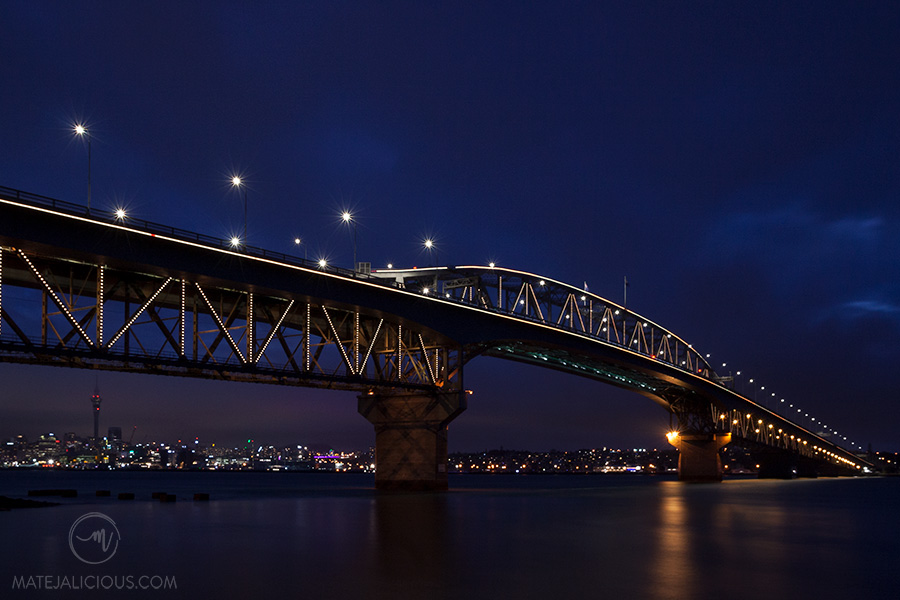 Auckland City under the bridge - Matejalicious Travel and Adventure