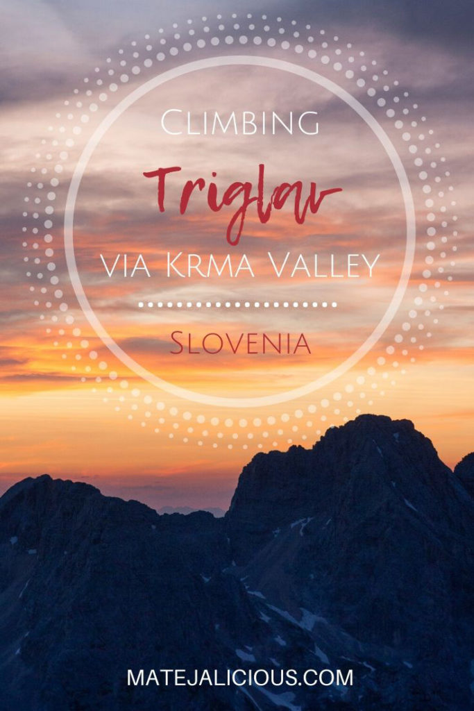 Climbing Triglav via Krma Valley - Matejalicious Travel and Adventure
