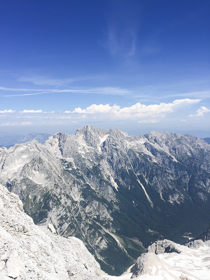 Triglav Summit View - Matejalicious Travel and Adventure